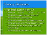 treasury quotations