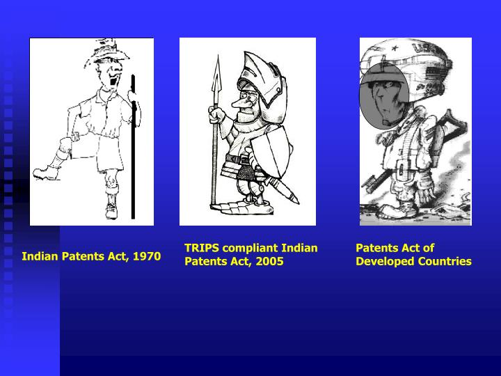 TRIPS compliant Indian Patents Act, 2005