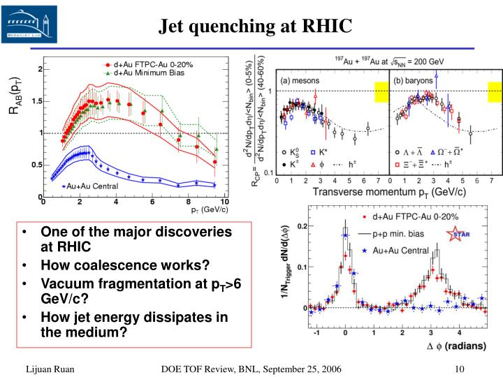 Jet quenching at RHIC