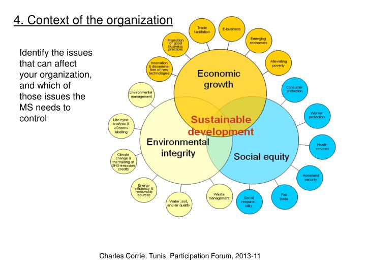 4. Context of the organization