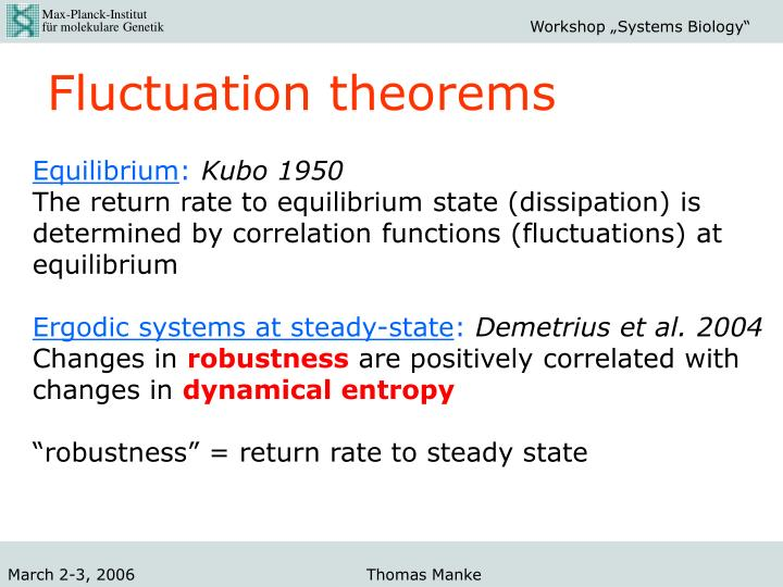 Fluctuation theorems