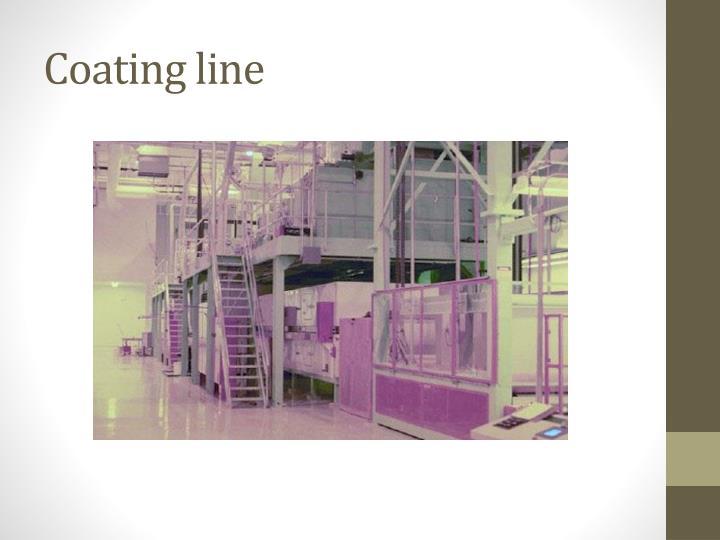 Coating line
