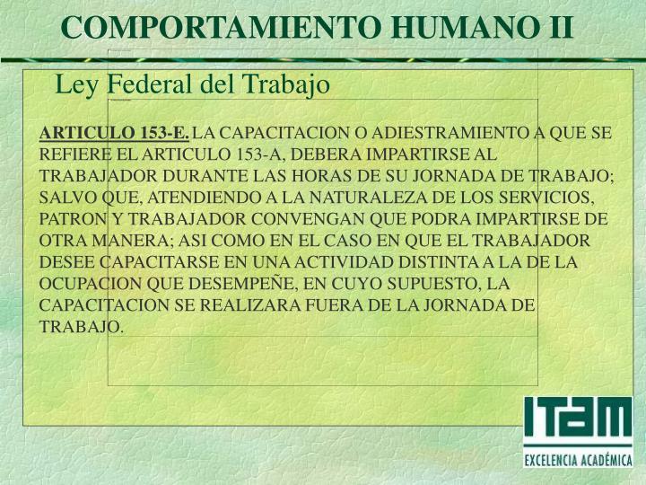 ARTICULO 153-E.