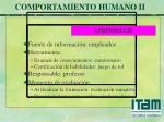 comportamiento humano ii27