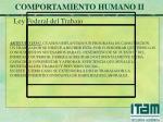 comportamiento humano ii31