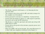 process of hire purchase