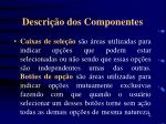 descri o dos componentes2