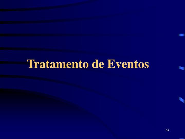 Tratamento de Eventos