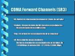 cdma forward channels sr3