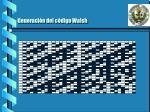 generaci n del c digo walsh1