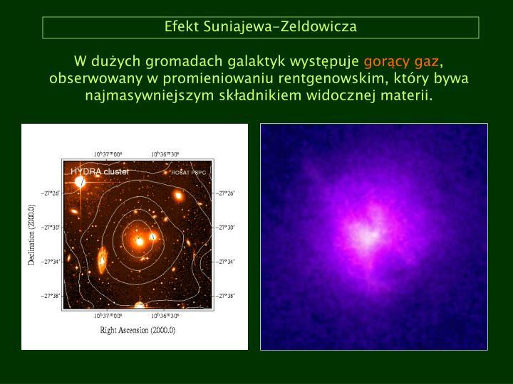 Efekt Suniajewa-Zeldowicza