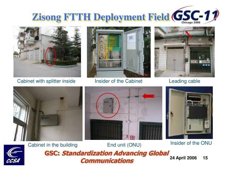 Zisong FTTH Deployment Field