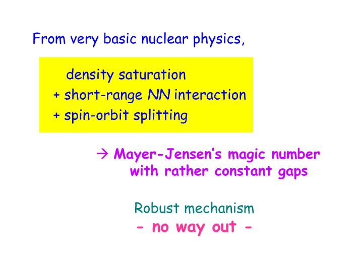 From very basic nuclear physics,