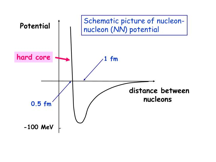 Schematic picture of nucleon-