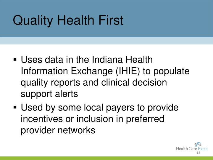 Quality Health First