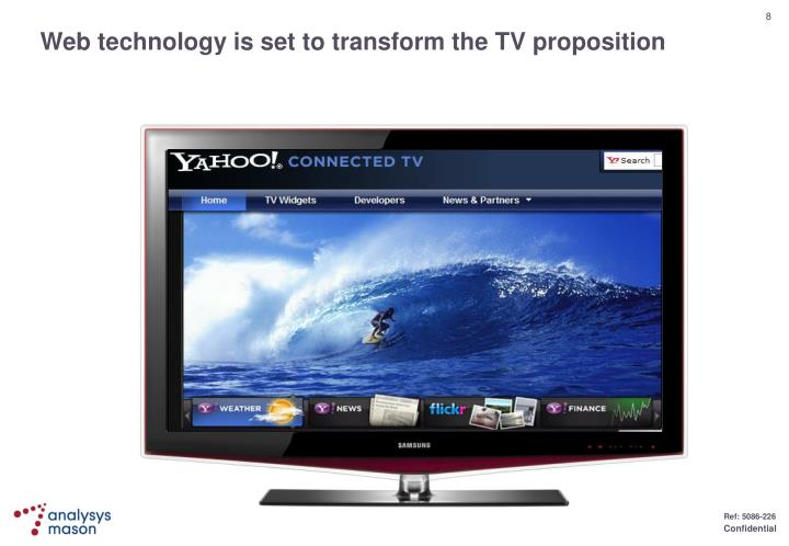 Web technology is set to transform the TV proposition
