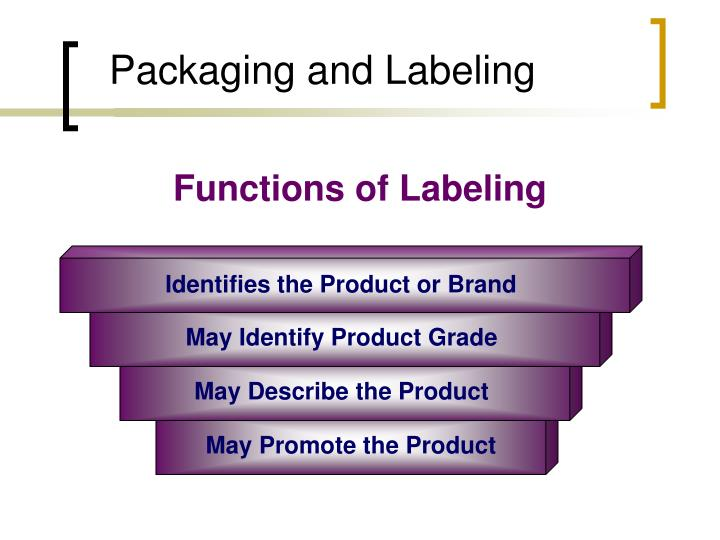 marketing packaging and labeling Chapter 31 branding, packaging, and labeling functions of packaging marketing essentials chapter 31 the fair packaging and labeling act.