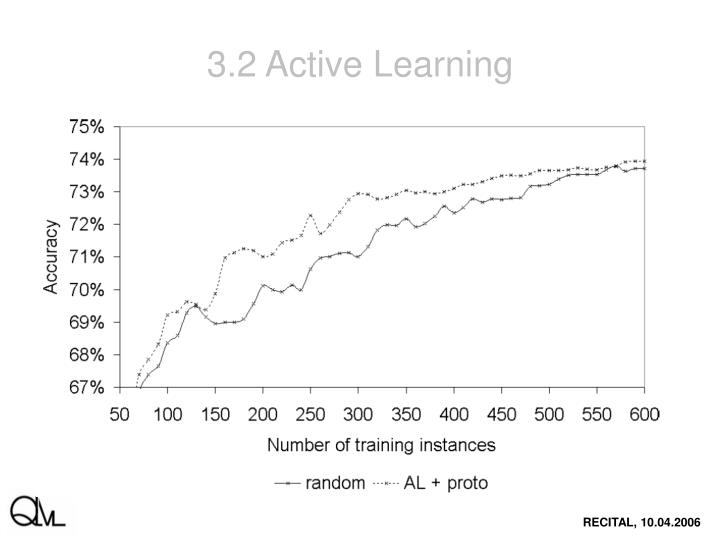 3.2 Active Learning