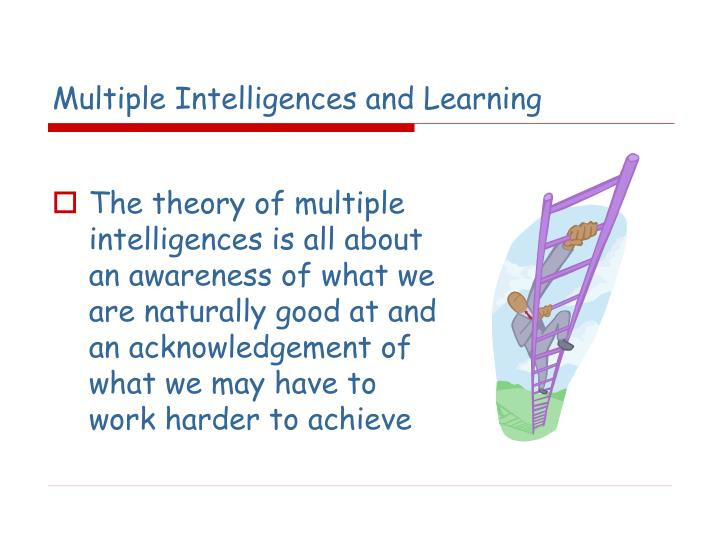 Multiple Intelligences and Learning