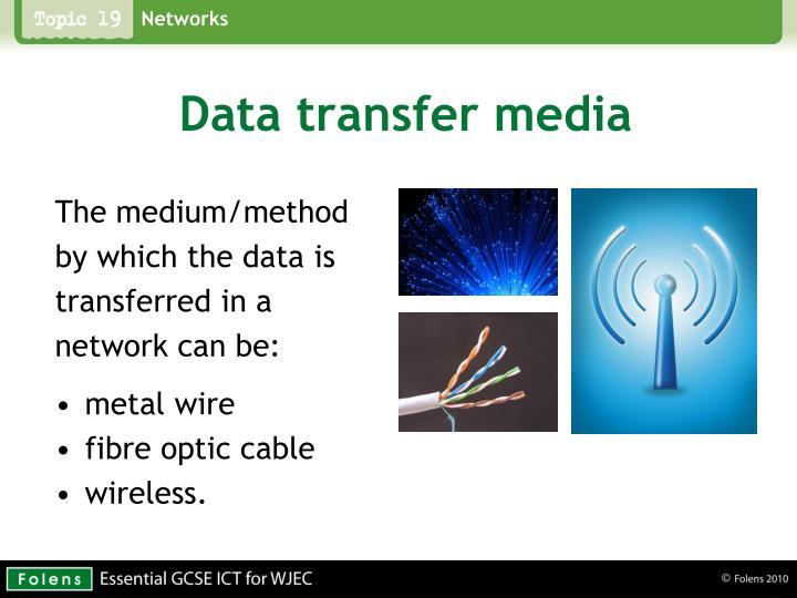 Data transfer media