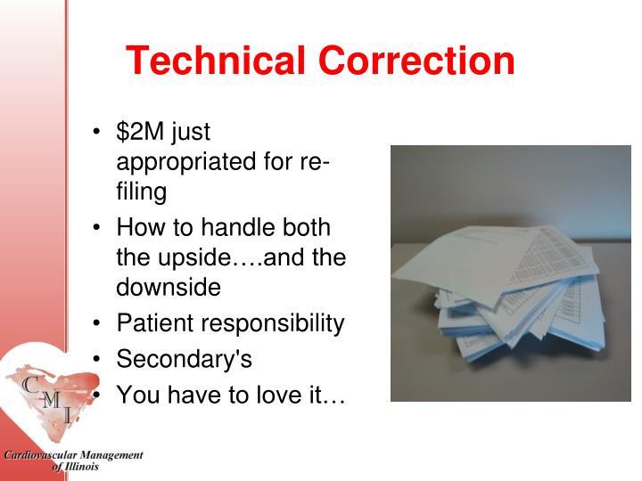 Technical Correction