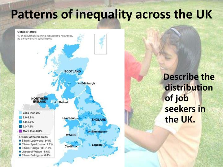 Patterns of inequality across the UK