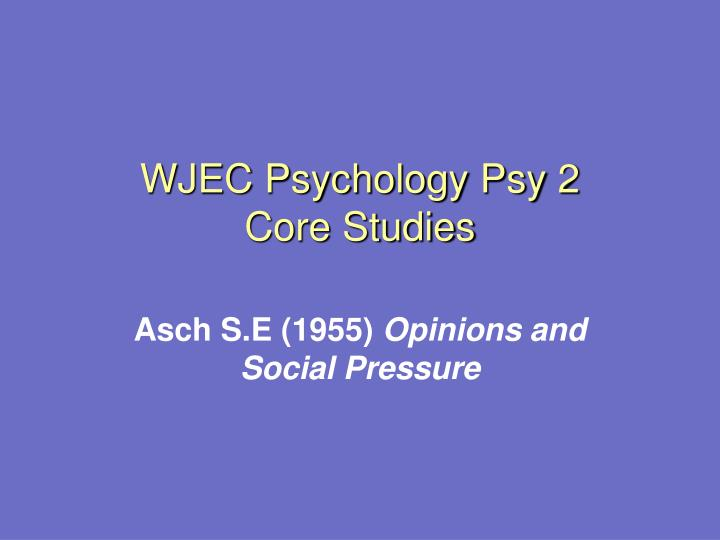 a critique of the article opinions and social pressure by solomon asch