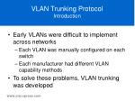 vlan trunking protocol introduction