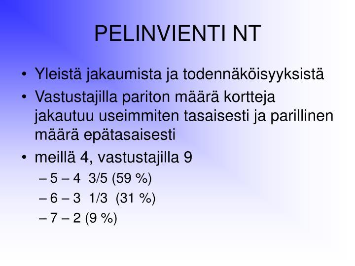 PELINVIENTI NT