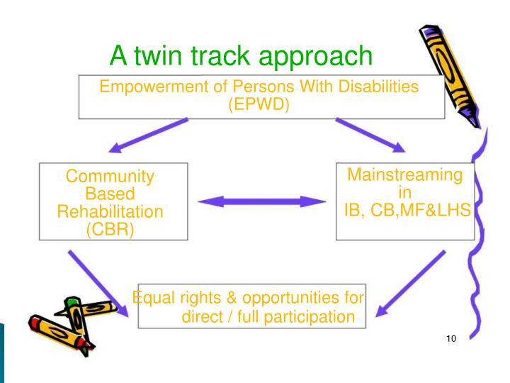 A twin track approach