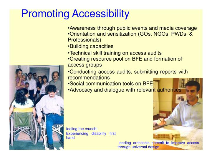 Promoting Accessibility