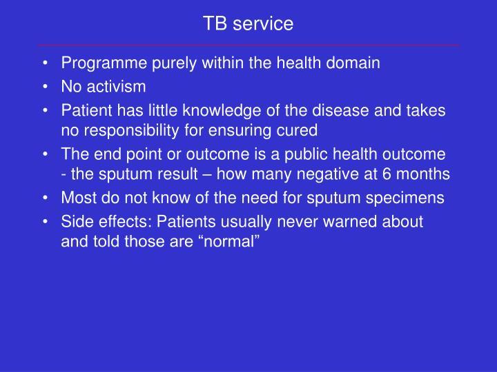 TB service