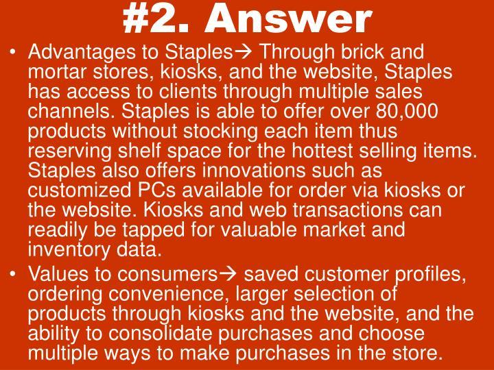 #2. Answer