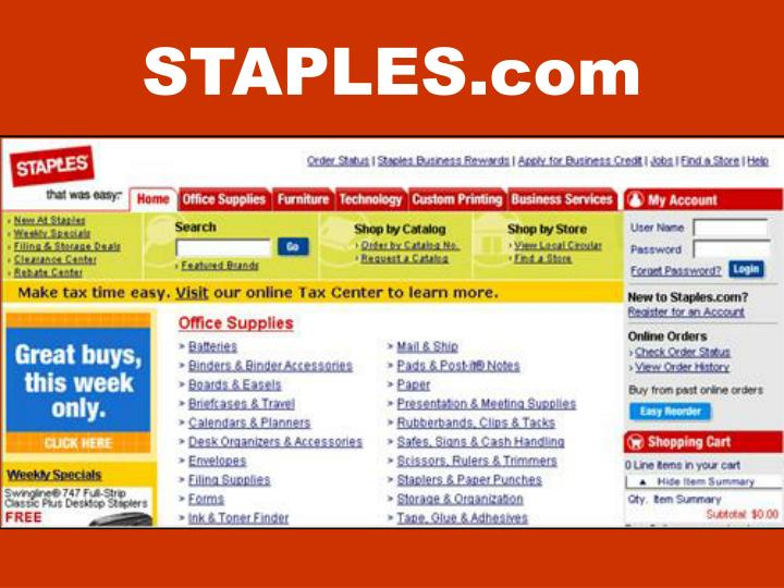 STAPLES.com