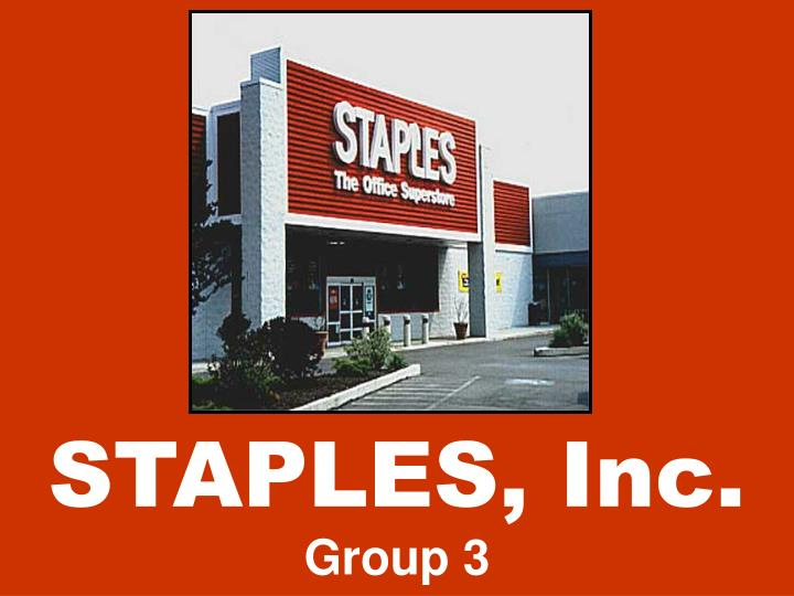 Staples inc