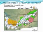 current forecast group configuration