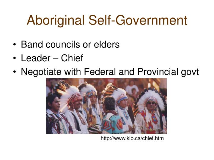 Aboriginal Self-Government