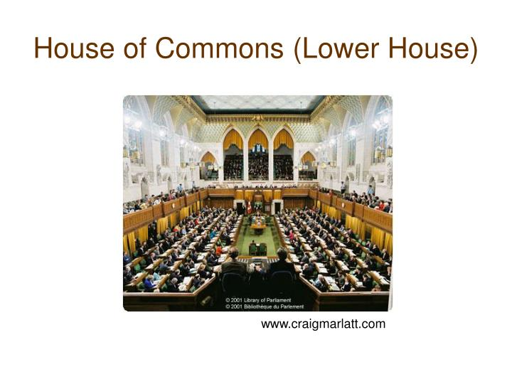 House of Commons (Lower House)