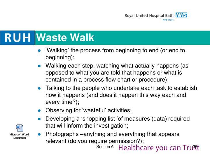 Waste Walk