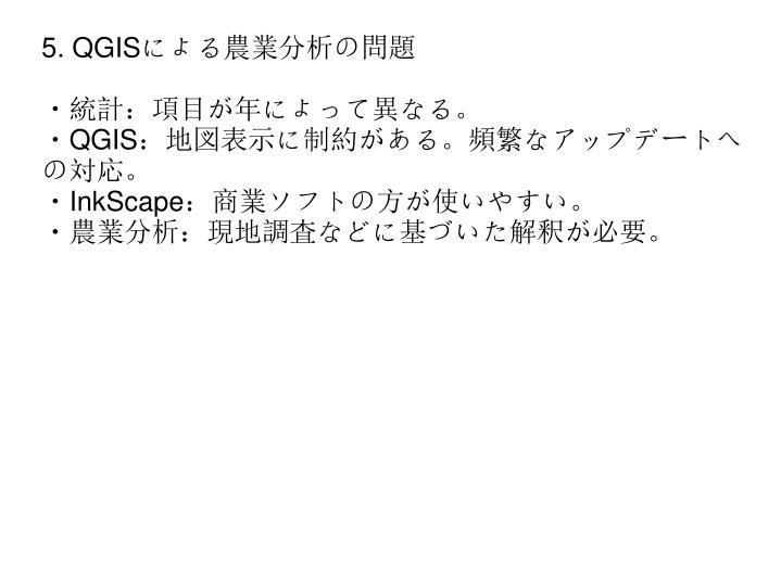 5. QGIS