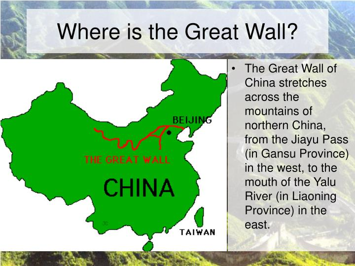 Where is the great wall
