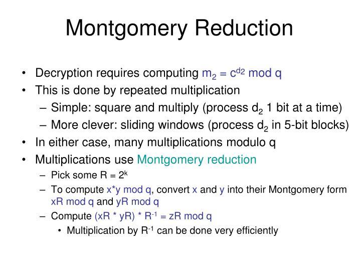 Montgomery Reduction