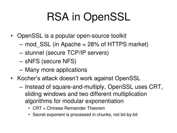 RSA in OpenSSL