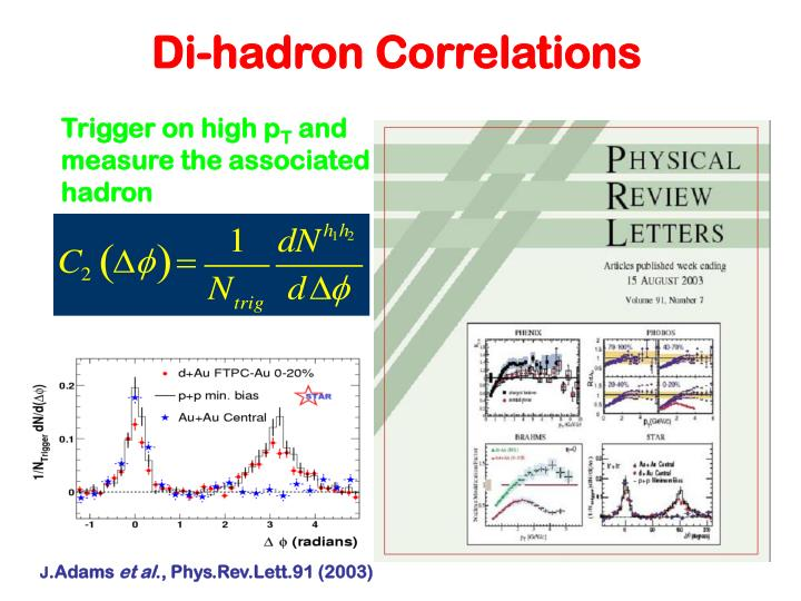 Di-hadron Correlations
