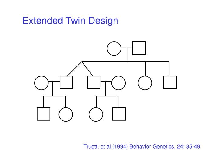 Extended Twin Design