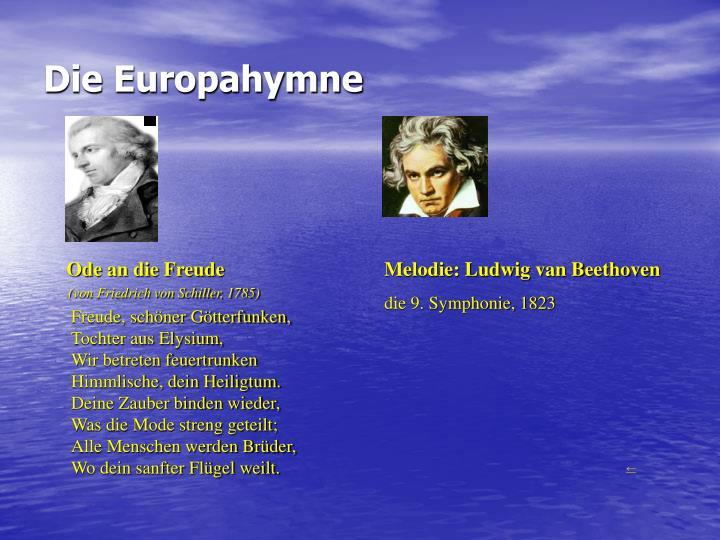 Die Europahymne
