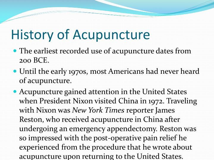 use of acupuncture analgesia essay An overview of medical acupuncture by joseph m helms  acupuncture analgesia has been demonstrated to activate the endogenous opioid peptide system and thereby.