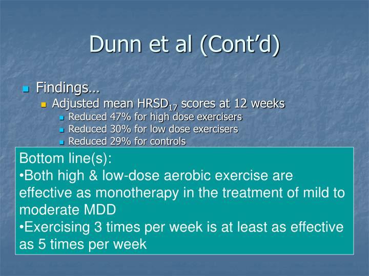 Dunn et al (Cont'd)