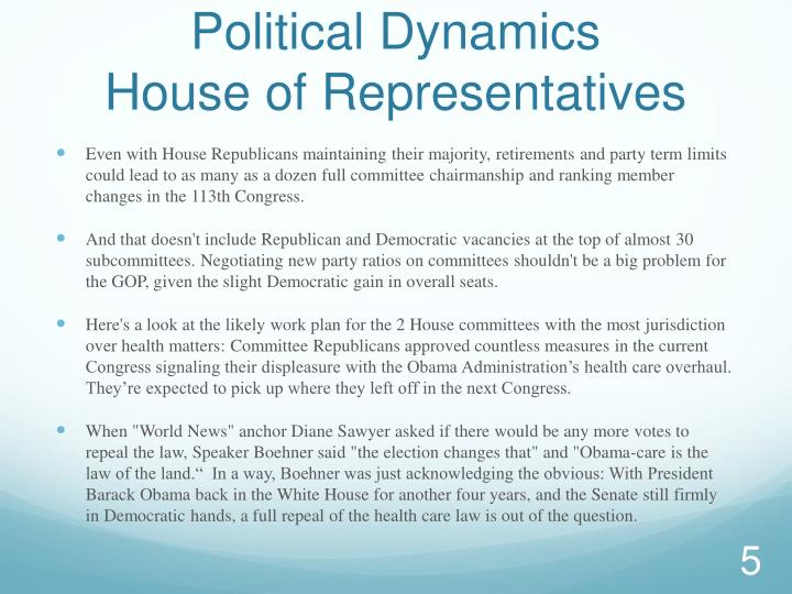 Political Dynamics
