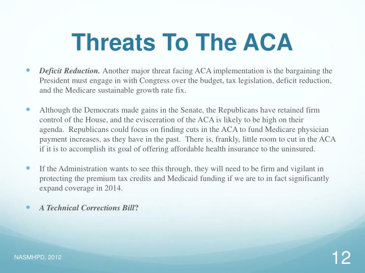 Threats To The ACA